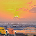Sunset With Scripture by Beverly Guilliams