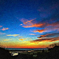 Sunset X Impasto by Steve Harrington