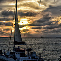 Sunsets And Sails by Maria Keady
