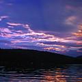 Sunset's Holy Shroud Of Silence by Lynda Lehmann