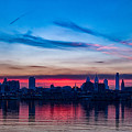 Sunsets Over Philly by Carol Ward