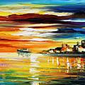 Sunset's Smile by Leonid Afremov
