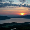 Sunsetting Over Portree, Isle Of Skye, Scotland. by Phill Thornton