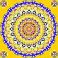 Sunshine And Blue Skies Mandala by Joy McKenzie