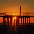 Sunshine At Wildwood Crest Pier by Bill Cannon