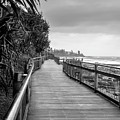 Sunshine Coast Boardwalk  by Jukka Heinovirta