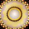 Sunshine Mandala by Gina De Gorna