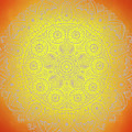Sunshine Mandala by Susan Link