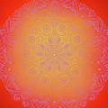 Sunshine Purple Mandala by Susan Link