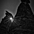 Sunstar At Tent Rocks by Stuart Litoff