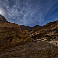 Sunstar Over Mosaic Canyon - Death Valley by Stuart Litoff