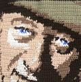 Suntan John Wayne by Cathy Marina