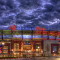 Suntrust Park Unfinished Atlanta Braves Baseball Art by Reid Callaway