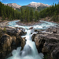 Sunwapta Falls In Jasper National Park by James Udall