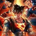 Super Heros  by Willberg Layun