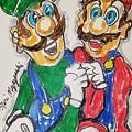 Super Mario Brothers by Geraldine Myszenski