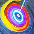 Super Massive Black Hole Impression by Stanley Morganstein