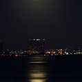 Super Moon Over San Diego 2 by Tommy Anderson
