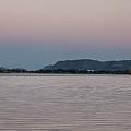 Super Moon-rise With Sugarloaf Winona by Kari Yearous