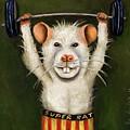 Super Rat by Leah Saulnier The Painting Maniac
