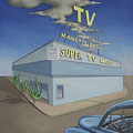 Super Tv Mart by Sally Banfill