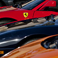 Supercars Ferrari Emblem by Jill Reger