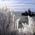 Superior Ice Formations by Sandra Updyke
