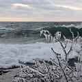 Superior January Waves by Sandra Updyke
