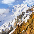 Superior Peak In The Utah Wasatch Mountains  by Douglas Pulsipher