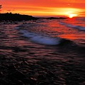 Superior Sunrise 2 by Larry Ricker