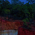 Supermoon Over Providence Canyon by Barbara Bowen