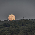Supermoon Rising by Black Brook Photography