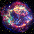 Supernova Remnant Cassiopeia A by Stocktrek Images