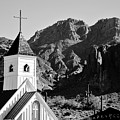 Superstition Mountain And Elvis Church by James Jones