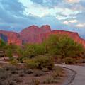 Superstition Mountains Arizona by Richard Jenkins