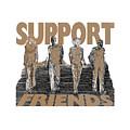 Support Friends by Lance Sheridan-Peel