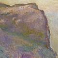 Sur La Falaise Au Petit Ailly by Claude Monet