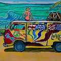 Surf Art/vw Bus by W Gilroy
