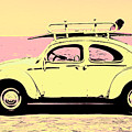 Surf Bug Popart Poster  by Jorgo Photography - Wall Art Gallery