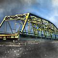 Surf City Nc Swing Bridge by Betsy Knapp