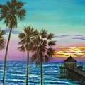 Surf City Sunset by Amelie Simmons