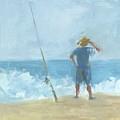 Surf Fishing by Chris N Rohrbach