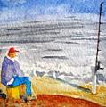 Surf Fishing by Spencer  Joyner