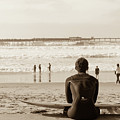 Surf Watcher by Clifford Beck