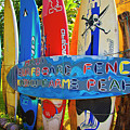 Surfboard Fence-the Amazing Race  by Jim Cazel