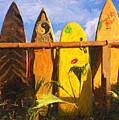 Surfboard Garden by Ron Regalado