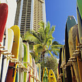 Surfboard Stack by Peter French - Printscapes
