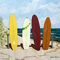 Surfboards by Dan O'Neill
