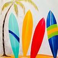 Surfboards II by Barry Knauff