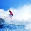 Surfer Alex Ribeiro - Nbr 3 by Scott Cameron